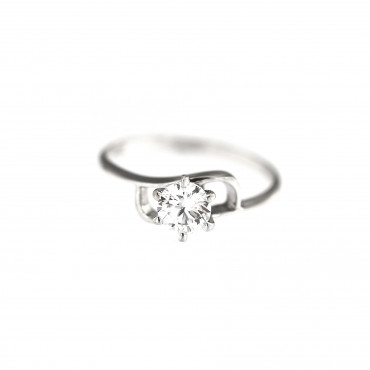 White gold engagement ring DBS04-01-03