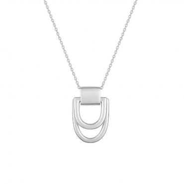 Sterling silver pendant necklace MUR202865