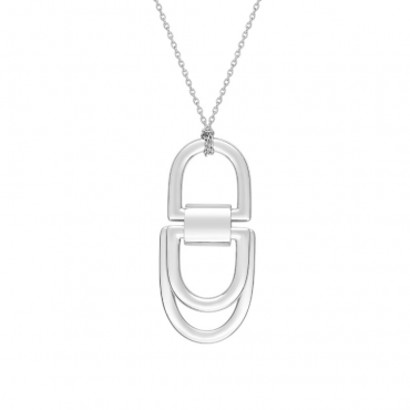 Sterling silver pendant necklace MUR202866