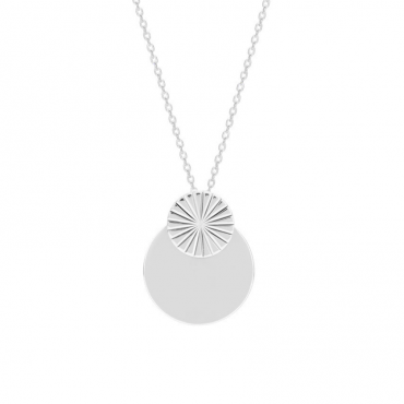 Sterling silver pendant necklace MUR202874