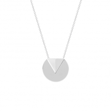 Sterling silver pendant necklace MUR202873