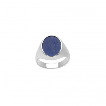 Sterling silver lazurite ring MUR307031