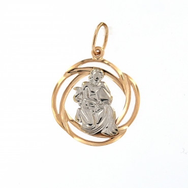 Rose gold Aquarius pendant ARH-VA-01