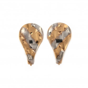 Rose gold earrings BRA02-03-02
