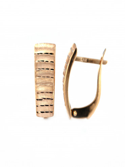 Rose gold earrings BRA02-06-09
