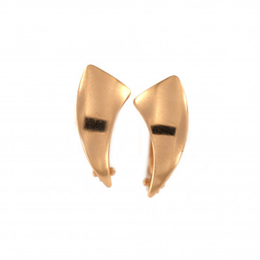 Rose gold earrings BRA02-12-02