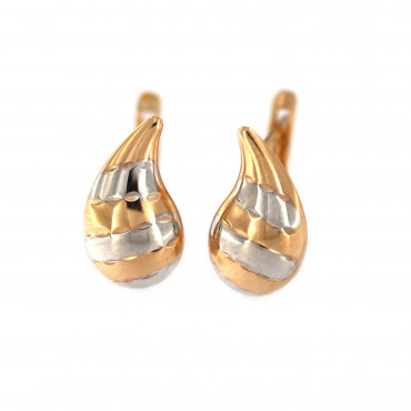 Rose gold earrings BRA02-19-01