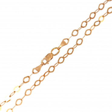 Rose gold chain CRCABKBR-3.30MM