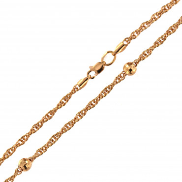 Rose gold chain CRDRKB-2.00MM