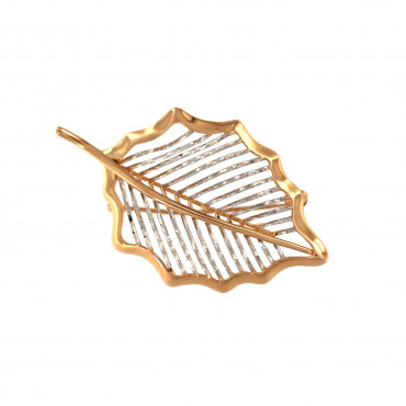 Rose gold brooch FRS05-02