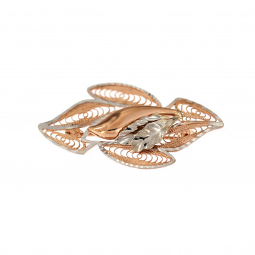 Rose gold brooch FRS05-05