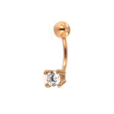 Rose gold belly ring GR07-02