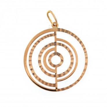 Rose gold pendant ARBL02-12