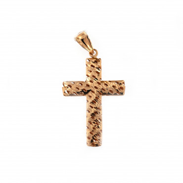 Rose gold cross pendant ARK02-22