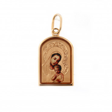 Rose gold icon pendant ARM01-11