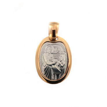 Rose gold icon pendant ARMR02-01