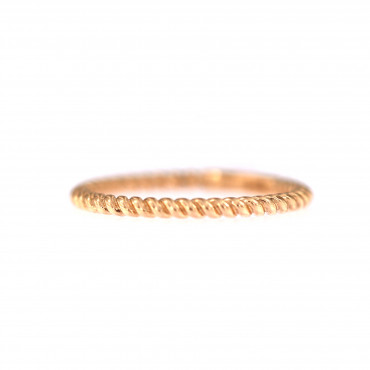 Rose gold ring DRAM01-01