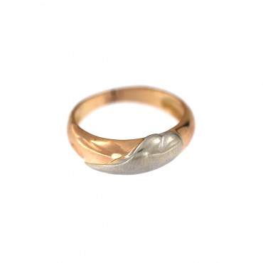 Rose gold ring DRB02-03