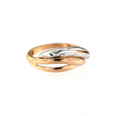 Rose gold ring DRB02-04