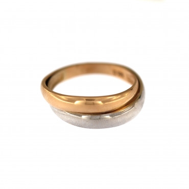 Rose gold ring DRB02-06