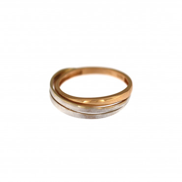 Rose gold ring DRB02-07