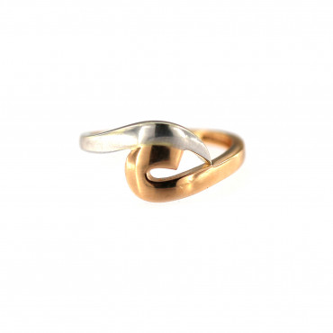 Rose gold ring DRB02-09