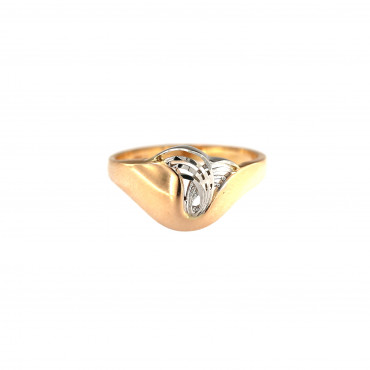 Rose gold ring DRB02-11