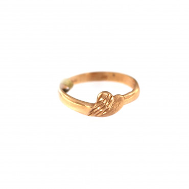Rose gold ring DRB02-12