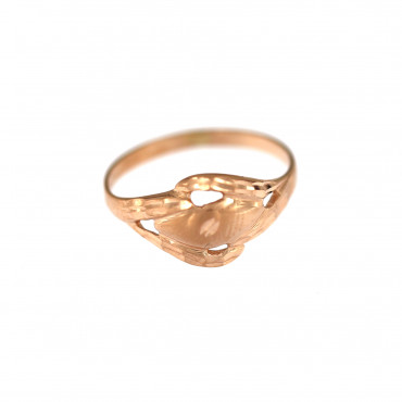 Rose gold ring DRB02-13