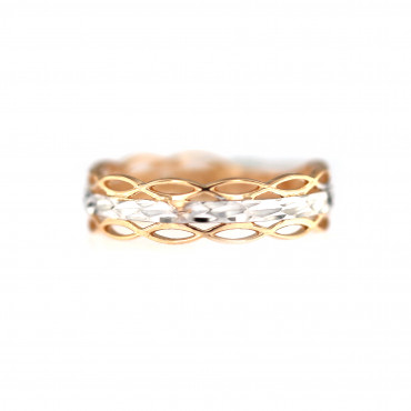 Rose gold ring DRB03-01