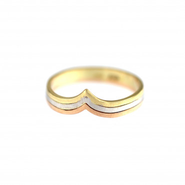 Rose gold ring DRB03-04