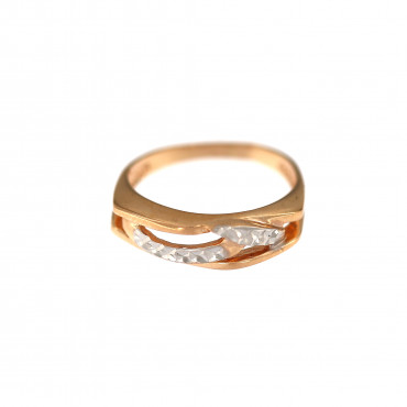 Rose gold ring DRB03-06