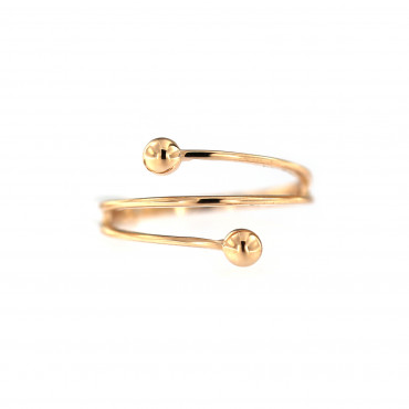 Rose gold ring DRB04-03