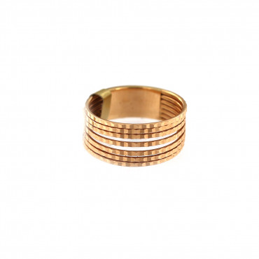 Rose gold ring DRB05-01