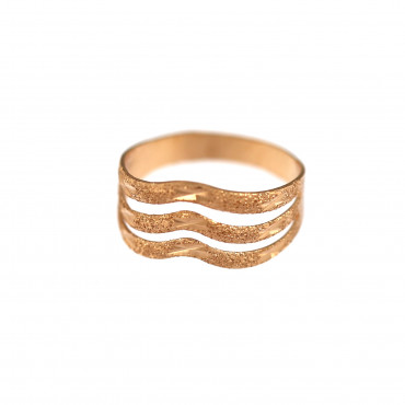 Rose gold ring DRB05-02