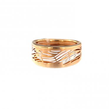 Rose gold ring DRB05-03