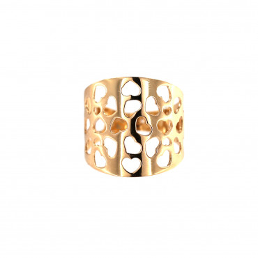 Rose gold ring DRB05-04