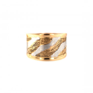 Rose gold ring DRB05-05
