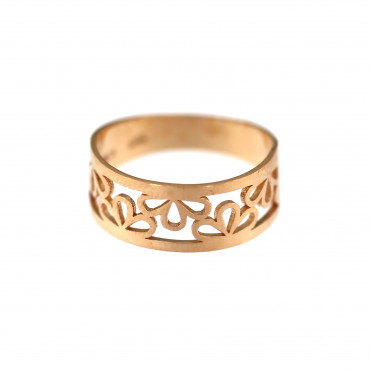 Rose gold ring DRB05-06