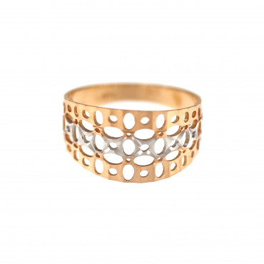 Rose gold ring DRB05-07