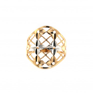 Rose gold ring DRB05-08