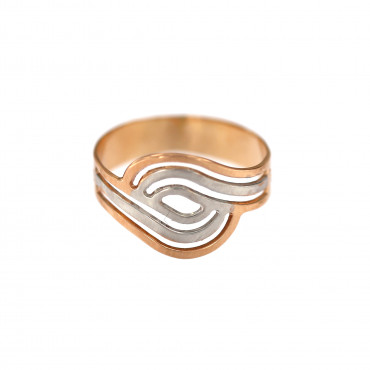 Rose gold ring DRB06-01