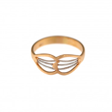Rose gold ring DRB06-04