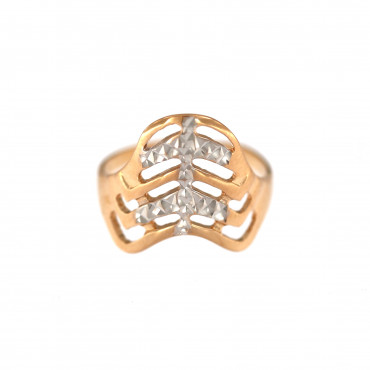 Rose gold ring DRB06-05