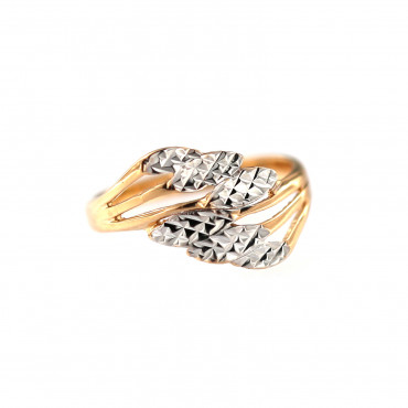 Rose gold ring DRB06-08