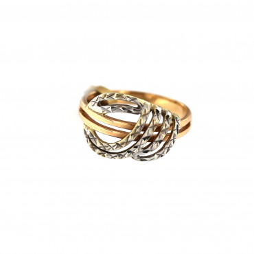 Rose gold ring DRB06-10