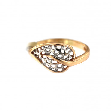 Rose gold ring DRB06-11