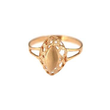 Rose gold ring DRB07-02
