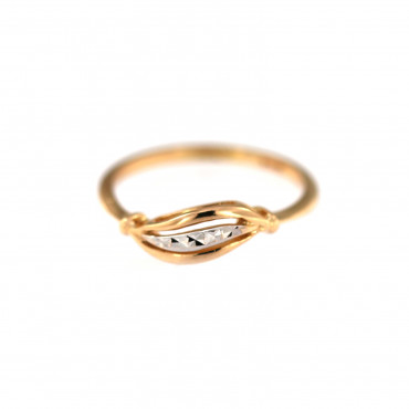 Rose gold ring DRB09-02
