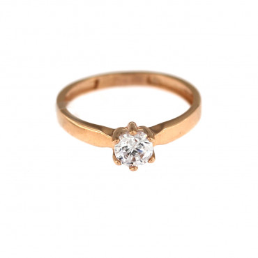 Rose gold engagement ring DRS01-02-03
